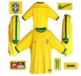 BRASILIENs hemmatröja i Frankrike-VM 1998