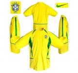 BRASILIENs hemmatröja i Sydkorea/Japan-VM 2002