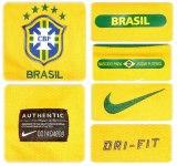 BRASILIENs förstatröja i Sydafrika-VM 2010 detaljer