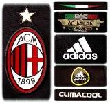 A. C. MILANs tredje tröja 2010 - 2011 detaljer