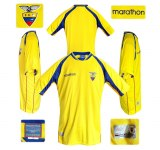 ECUADORs hemmatröja i Sydafrika/Japan-VM 2002
