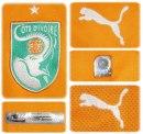 ELFENBENSKUSTENs hemmatröja i Sydafrika-VM 2010 detaljer