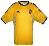 SVERIGEs hemmatröja i Japan/Sydkorea-VM 2002 front
