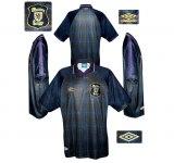 SKOTTLANDs första tröja i England-EM 1996
