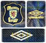 SKOTTLANDs första tröja i England-EM 1996 detaljer