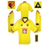 WATFORD F. C. förstatröja 1999 - 2001