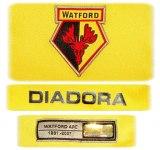 WATFORDs förstatröja 2007 - 2008 detaljer
