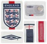 ENGLANDs förstatröja i Japan/Sydkorea-VM 2002 detaljer