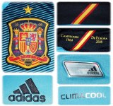 SPANIENs andratröja i Polen/Ukraina-EM 2012 details