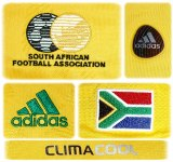 SYDAFRIKAs förstatröja i Sydafrika-VM 2010 detaljer