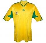 SYDAFRIKAs förstatröja i Sydafrika-VM 2010 front