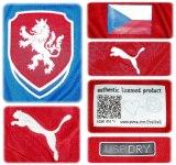 TJECKIENs förstatröja i Polen/Ukraina-EM 2012 detaljer