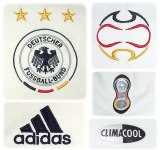 TYSKLANDs förstatröja i Tyskland-VM 2006 detaljer
