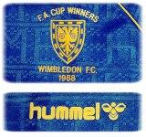 WIMBLEDONs förstatröja 1988 - 1989 detaljer