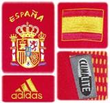 SPANIENs förstatröja i Sydkorea/Japan-VM 2002 detaljer