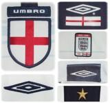 ENGLANDs förstatröja i Portugal-EM 2004 avigsida detaljer