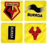 WATFORDs förstatröja 2010 - 2011 detaljer