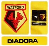 WATFORDs förstatröja 2005 - 2006 detaljer
