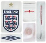 ENGLANDs förstatröja i Tyskland-VM 2006 detaljer