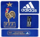 FRANKRIKEs förstatröja i Belgien/Nederländerna-EM 2000 detaljer