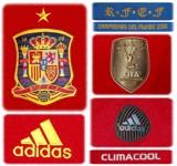 SPANIENs förstatröja 2010 - 2012 detaljer