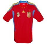 SPANIENs förstatröja 2010 - 2012 front