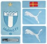MALMÖ FFs förstatröja 2011 - 2012 detaljer
