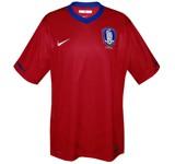 SYDKOREAs förstatröja i Sydafrika-VM 2010 front