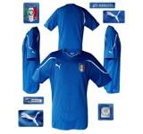 ITALIENs förstatröja i Sydafrika-VM 2010