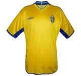 SVERIGEs förstatröja i Portugal-EM 2004 front