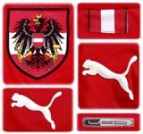 ÖSTERRIKEs förstatröja i Schweiz/Österrike-EM 2008 detaljer