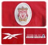 Liverpool förstatröja 1998 - 2000 detaljer
