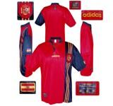SPANIENs förstatröja i England-EM 1996