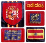 SPANIENs förstatröja i England-EM 1996 detaljer