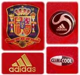 SPANIENs förstatröja i Schweiz/Österrike-EM 2008 detaljer