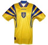 Till SVERIGEs förstatröja 1996 - 1998