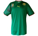 Till KAMERUNs förstatröja i Sydafrika-VM 2010