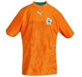 Till ELFENBENSKUSTENs hemmatröja i Tyskland-VM 2006