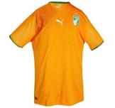Till ELFENBENSKUSTENs hemmatröja i Sydafrika-VM 2010