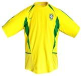 Till BRASILIENs förstatröja i Sydkorea/Japan-VM 2002