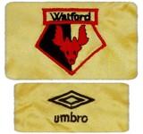 WATFORDs förstatröja 1982 - 1985 detaljer