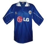 Till LEICESTER CITYs första tröja 2001 - 2002