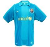 Till BARCELONAs bortatröja 2007 - 2008