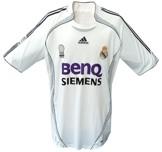 Till REAL MADRIDs förstatröja 2006 - 2007