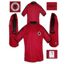 Till ALBANIENS förstatröja 2004 - 2006