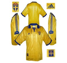 Till SVERIGES förstatröja 1998 - 1999