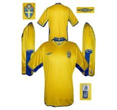 Till SVERIGEs förstatröja i Portugal-EM 2004