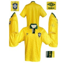 Till BRASILIENs förstatröja i Copa America 1993