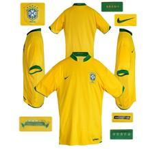 Till BRASILIENs förstatröja i Tyskland-VM 2006