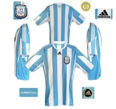 Till ARGENTINAs hemmatröja i Sydafrika-VM 2010
